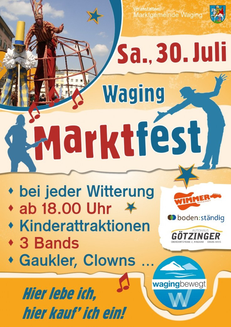 Marktfest in Waging