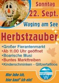 Herbstzauber in Waging am See
