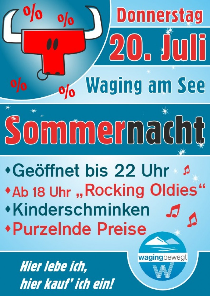 Sommernacht in Waging