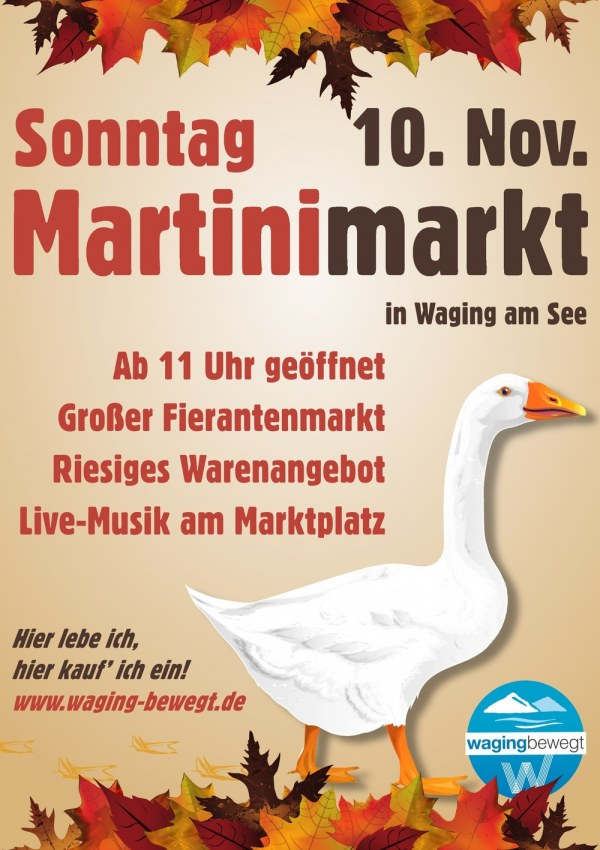 Martinimarkt am So., 10. November