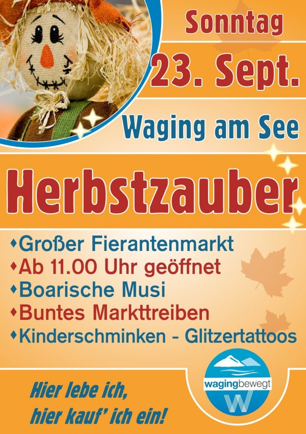 Herbstzauber in Waging am See am So., 23.09.