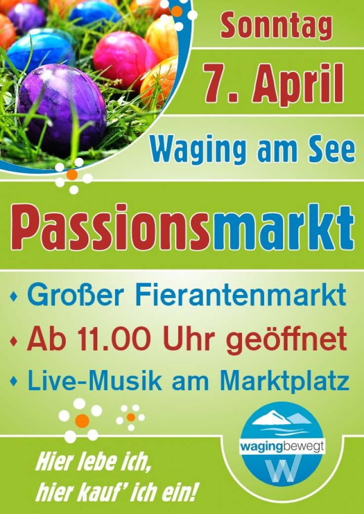 Passionsmarkt am So., 7. April